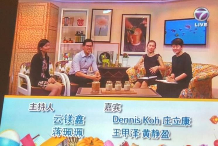 Sharing session about Soy Benefit with NTV7 Dec 2016